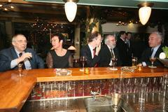[024] 10e Lustrum: Diner na borrel