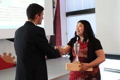Teacher of the Year Award ceremony