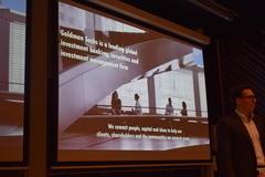 T.U.E.S.Day Lecture Goldman & Sachs